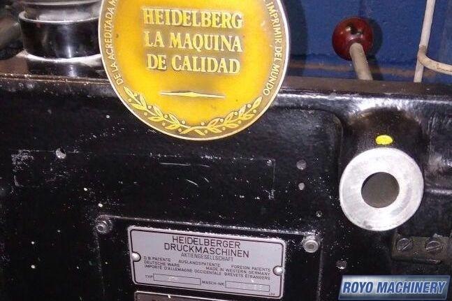 Heidelberg TP Platen
