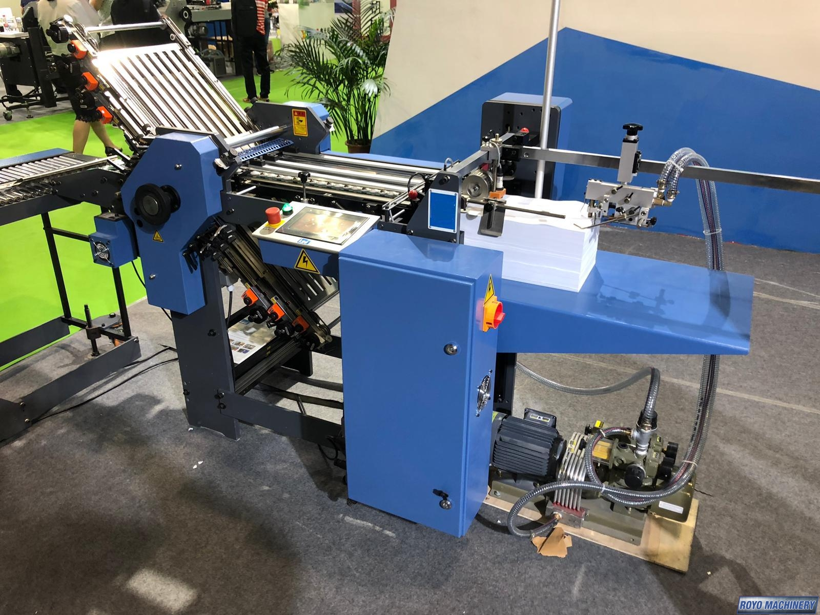 Royo Machinery R-360T 6/4