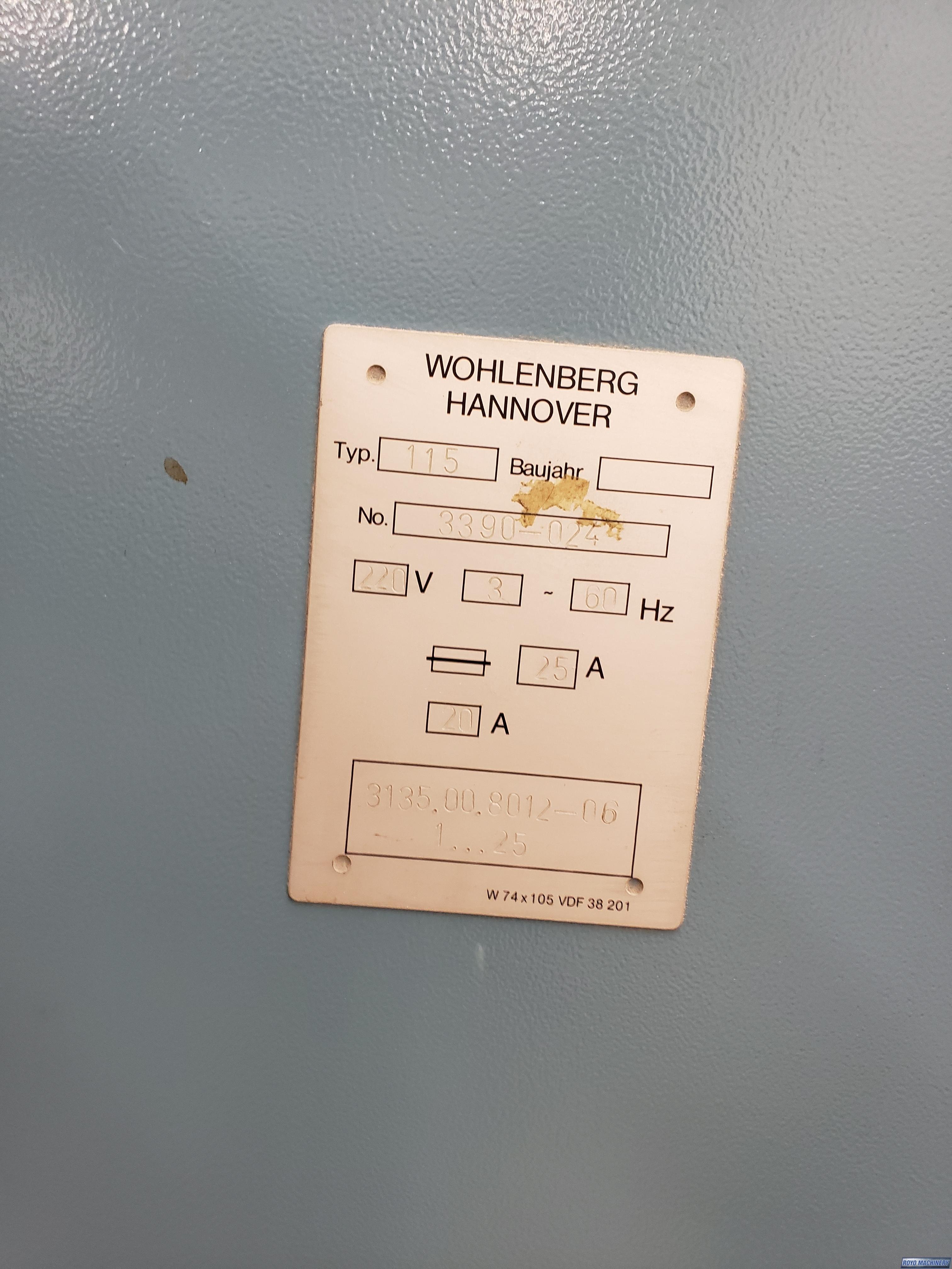 Wohlenberg 115 MCS-2TV