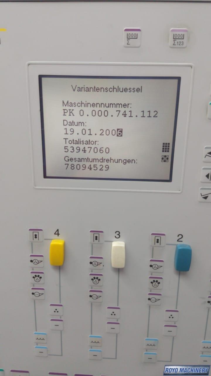 Heidelberg Printmaster PM 74-4