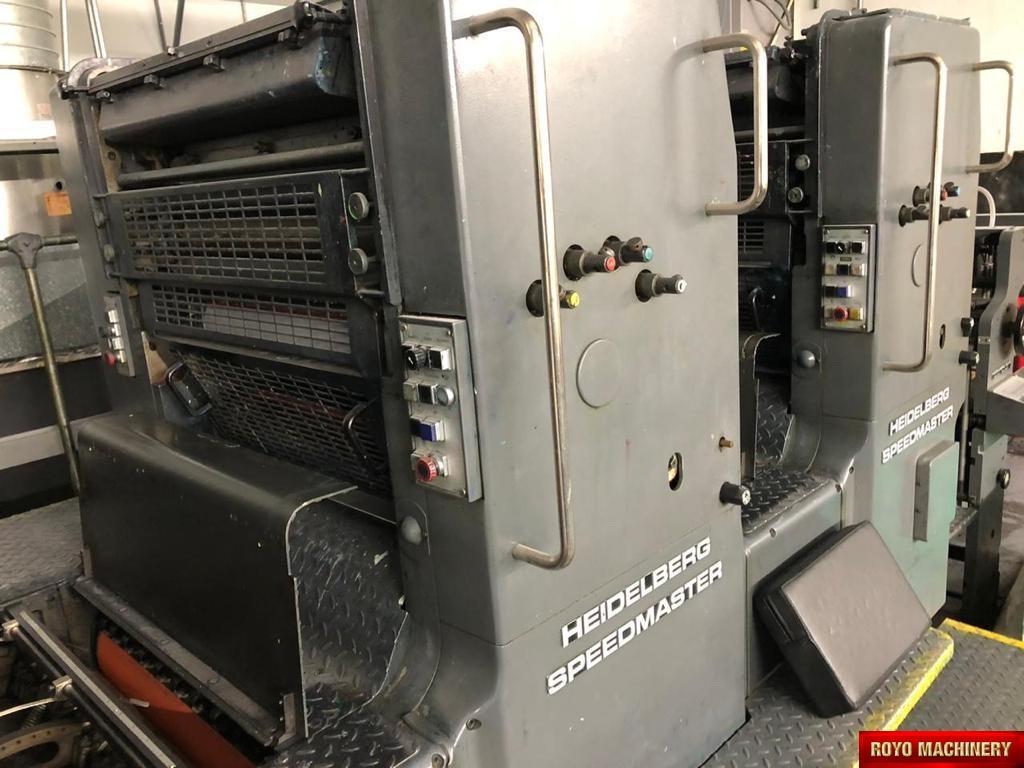 Heidelberg Speedmaster SM 72 F + L