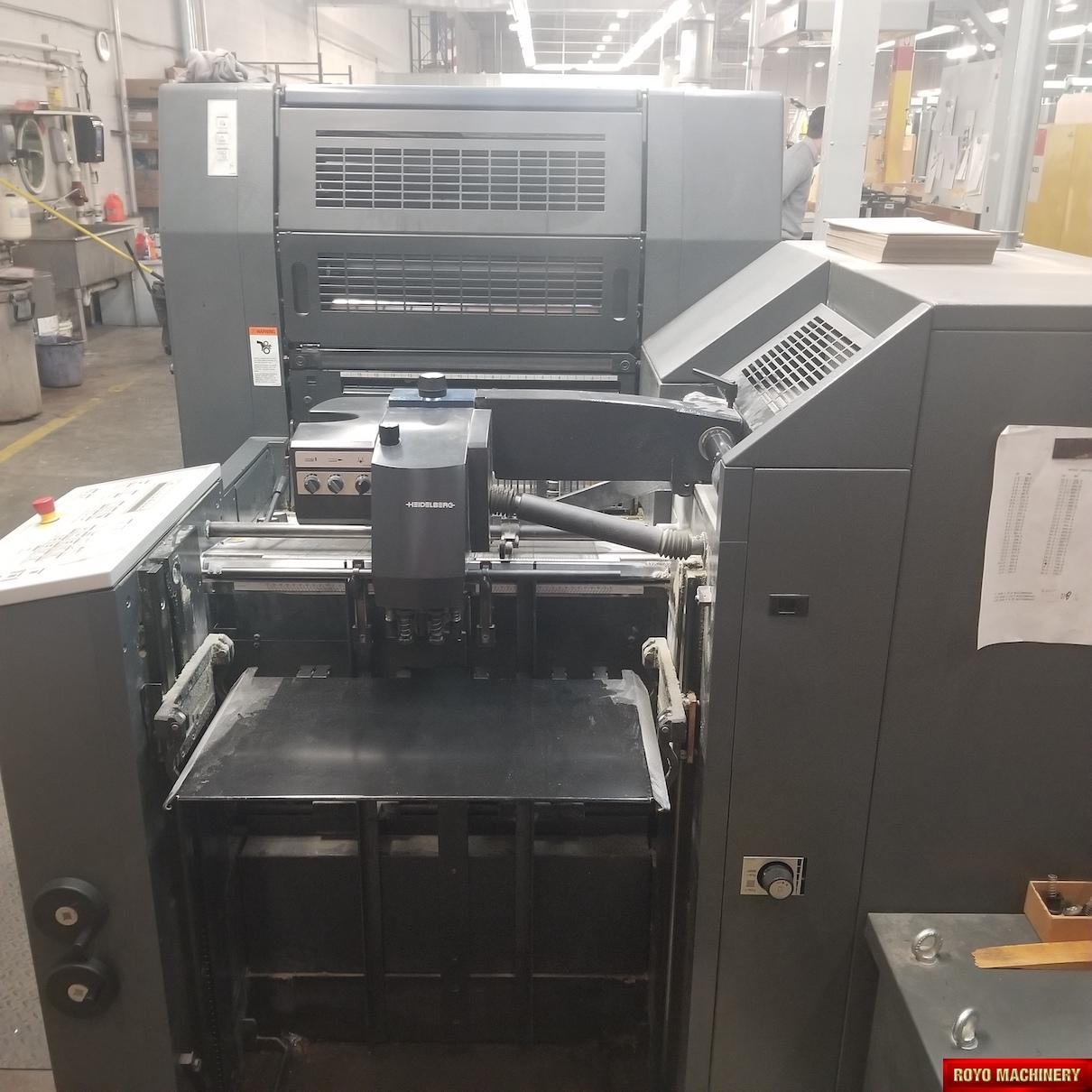 Heidelberg Printmaster PM 52-4