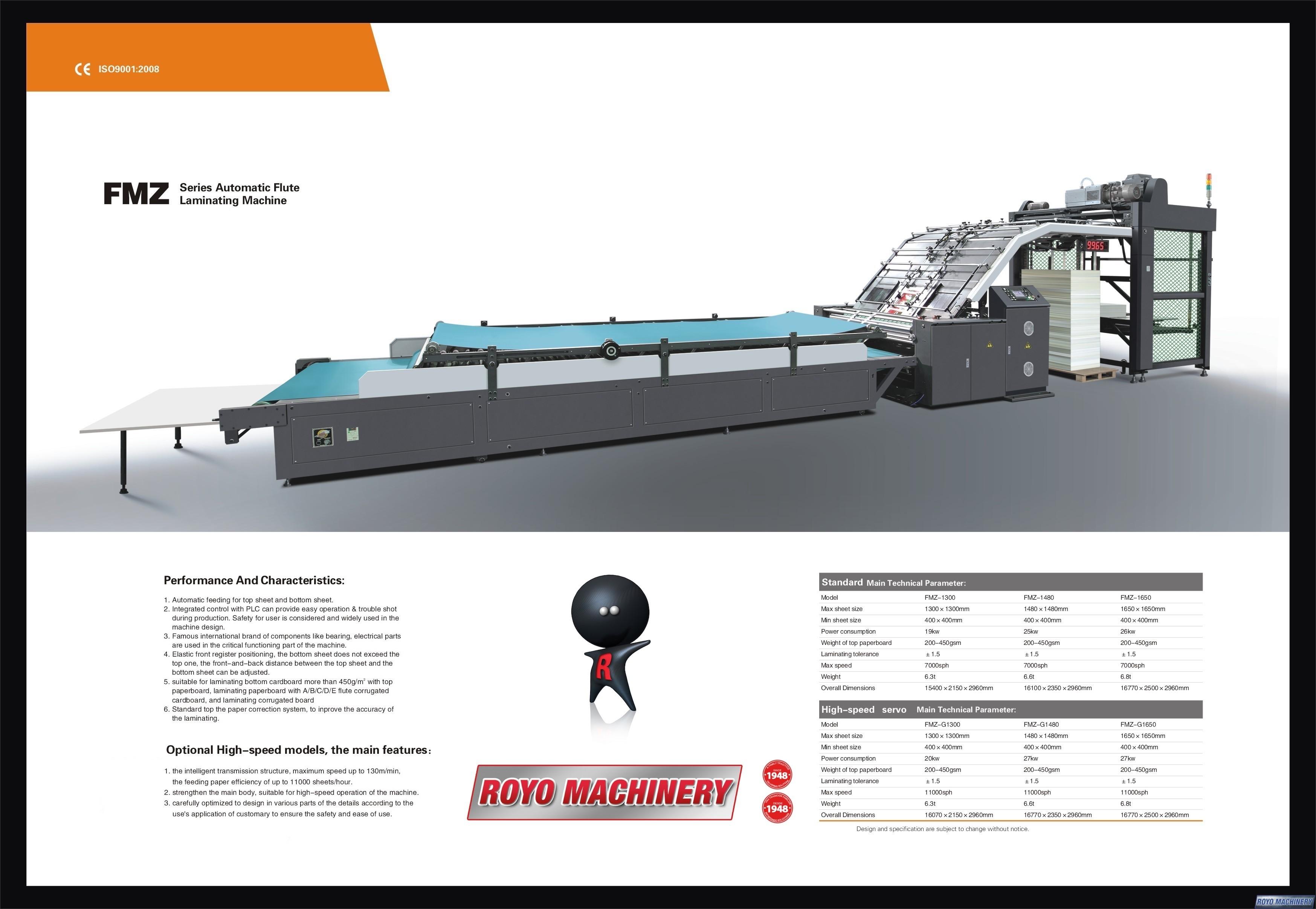 Royo Machinery RFMZ-1450