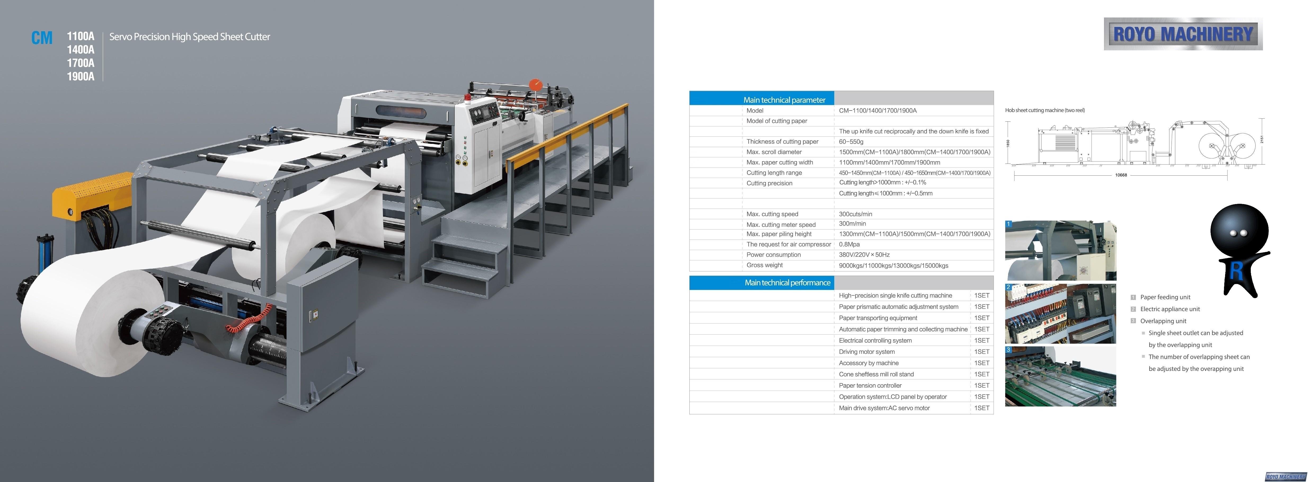 Royo Machinery RCM-1400A-2