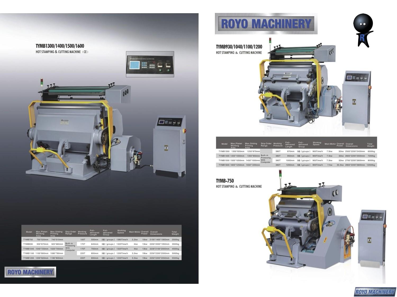 Royo Machinery TYMB1040