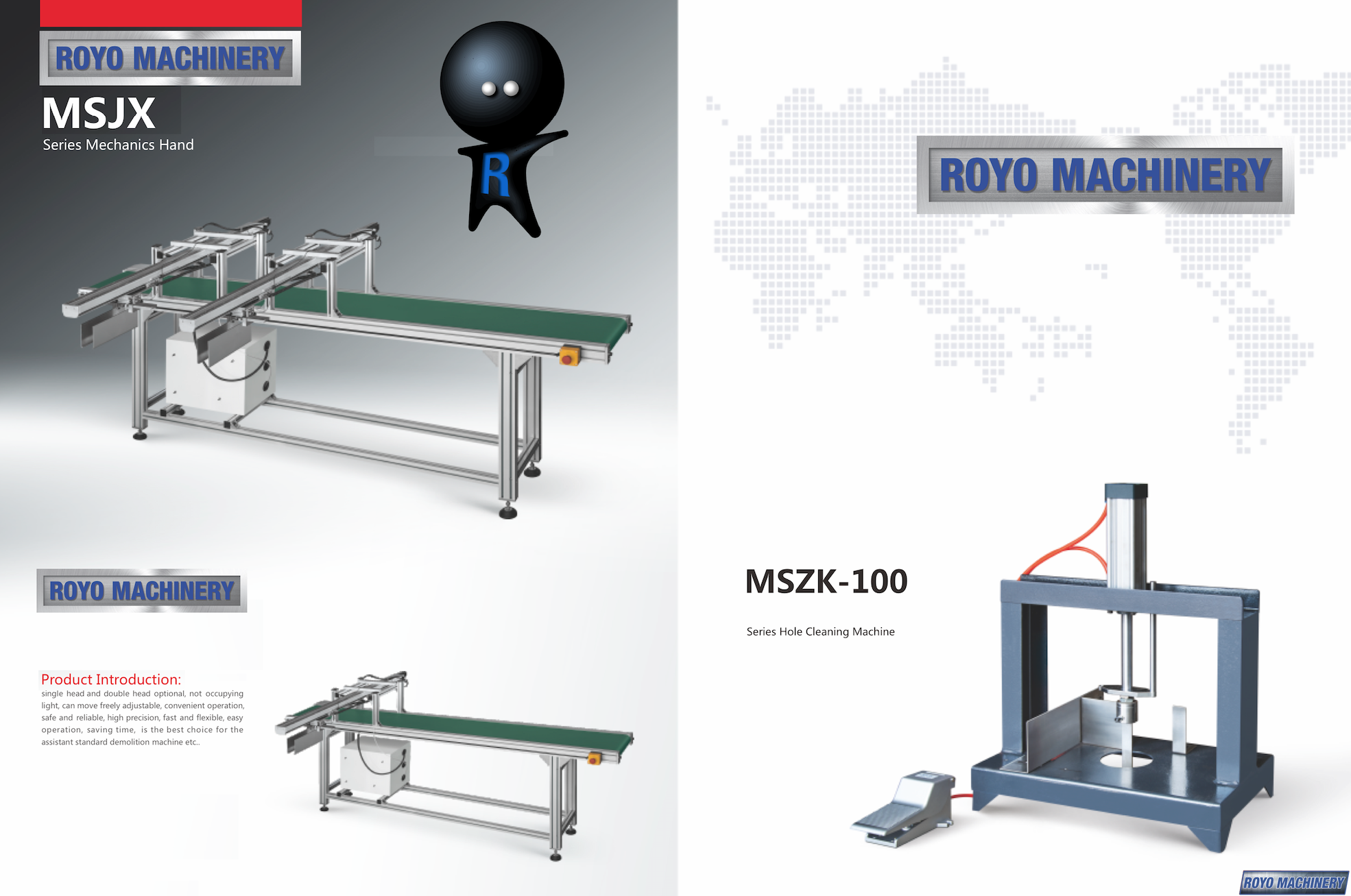 Royo Machinery RMSCB-1080