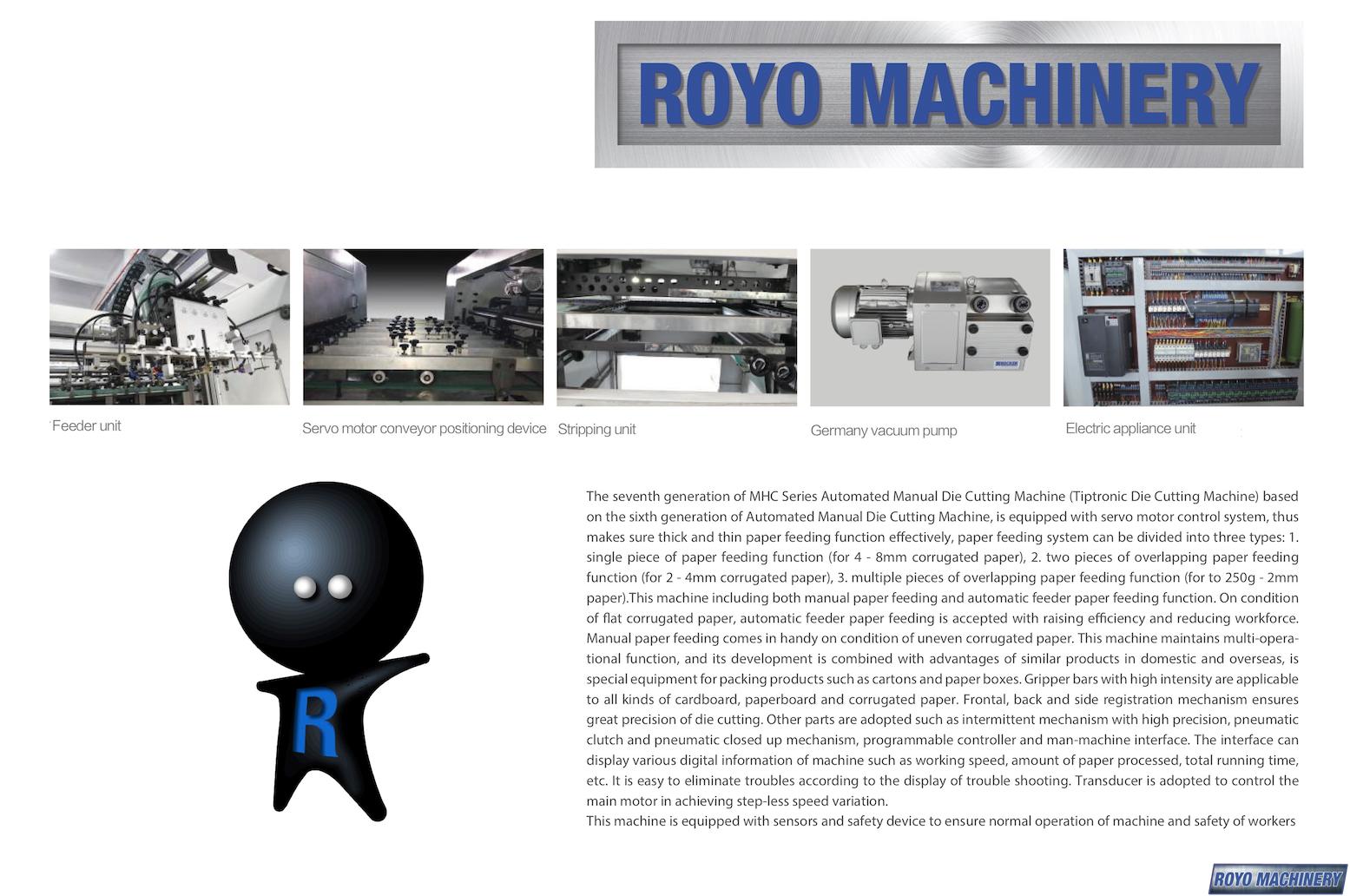 Royo Machinery RMHC-1300